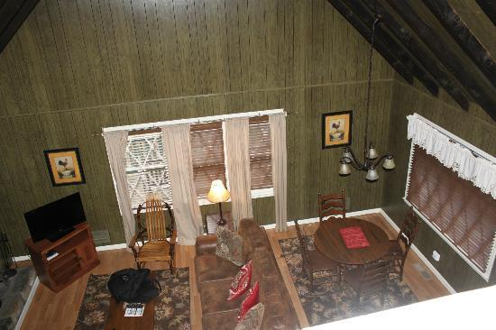 Dillard House: View from Loft area