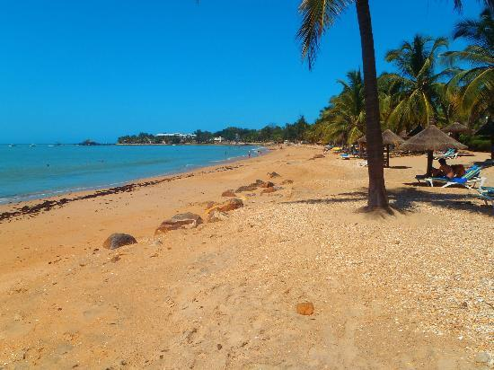 Royam Hotel: Superbe plage !