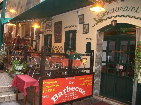 La terrasse picture of le barbecue nice tripadvisor - Le barbecue nice ...