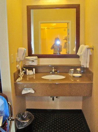 SpringHill Suites Memphis Downtown: bathroom sink
