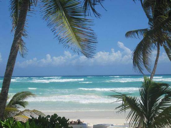 Hotel Cabanas Tulum: The beautiful beach
