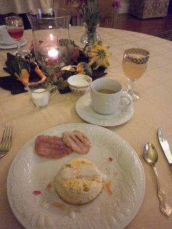 Bed & Breakfast at Oliver Phelps: one of our awesome breakfasts