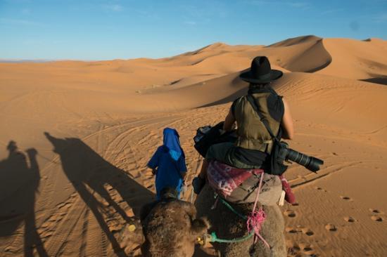 Yasmina Hotel Merzouga: camel trek