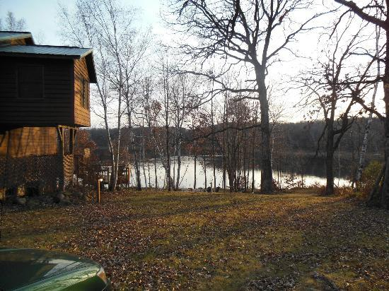 Pleasant Lake Bed and Breakfast: House & Lake