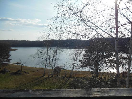Pleasant Lake Bed and Breakfast: View from balcony