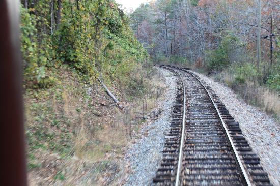 Great Smoky Mountains Railroad: Train Tracks
