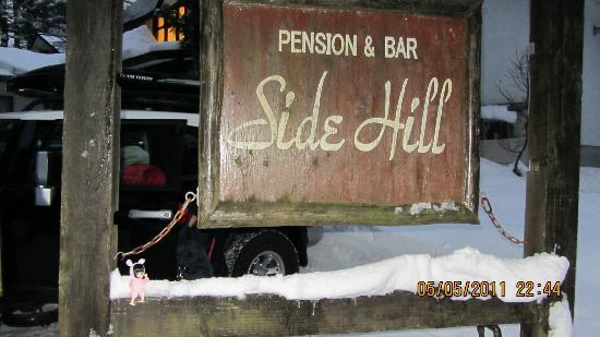 Pension & Bar Side Hill: Outside the Lodge