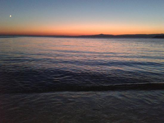 Marmara Island, Tyrkia: cinarli aksam ustu