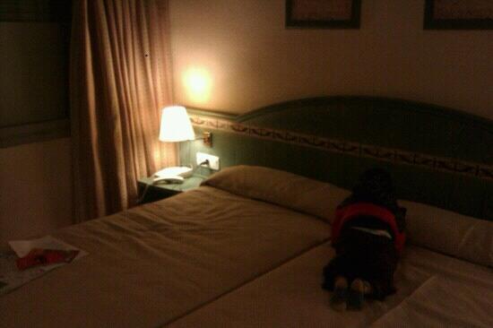 Granada Centro Hotel: spacious comfortable room all of €40!!