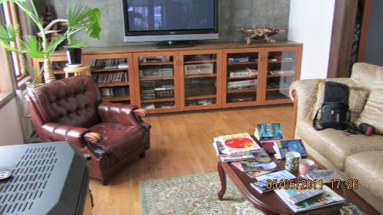 Pension & Bar Side Hill: Sitting Room
