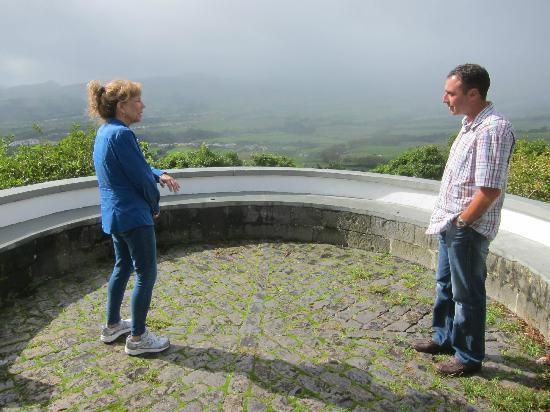 Azorean Tours: Cathy, Gary. Lookout
