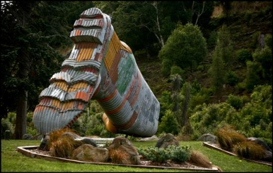 "Rangitikei District, New Zealand: Taihape is the self proclaimed ""Gumboot Capital of the World"""