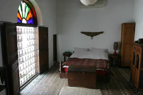 one of the two bedrooms at Dar el Ma