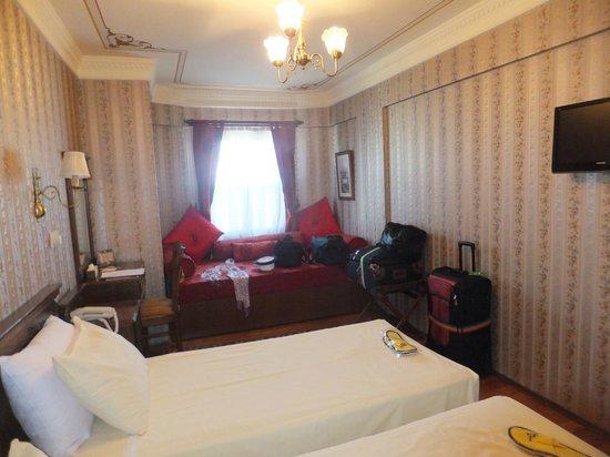 Dersaadet Hotel Istanbul : Room 501