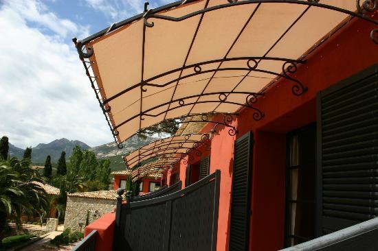 La Signoria : vue côté balcon