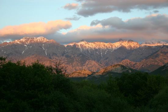 La Signoria : vue sur les montagnes