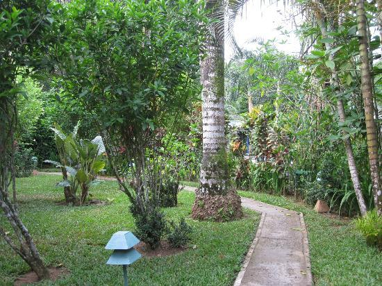 Playa Negra Guesthouse: Beautiful gardens throughout the property