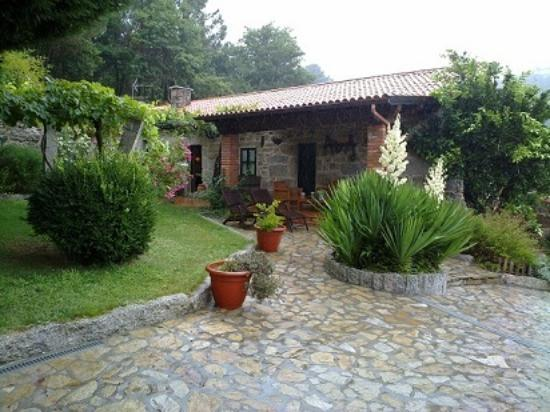 Casal de Folgueiras: jardin
