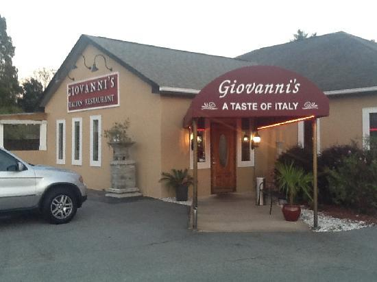 Giovanni S Restaurant Greensboro Menu Prices Reviews Tripadvisor