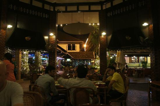 "Silom Village Inn: ""courtyard"" area"