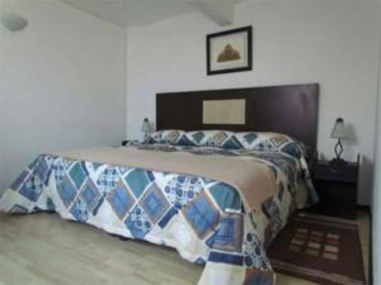 Hotel El Andariego: Vista de la habitación