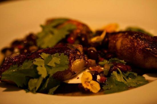 Herbert Samuel: Stuffed squid and beans (6/10)