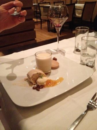 Hotel Restaurant la Sonnerie : desert
