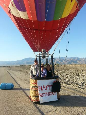 Havnfun Hot Air Ballooning : Perfect Landing