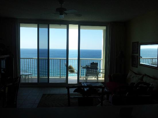Majestic Beach Towers: View from the living room