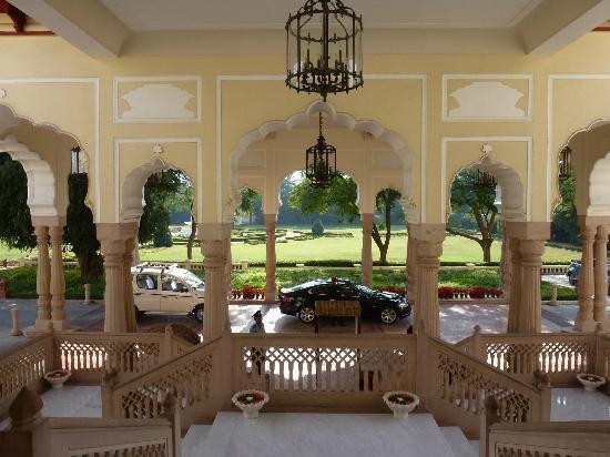 Rambagh Palace: Ankuft