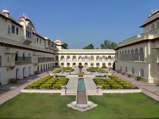 Rambagh Palace: Garten