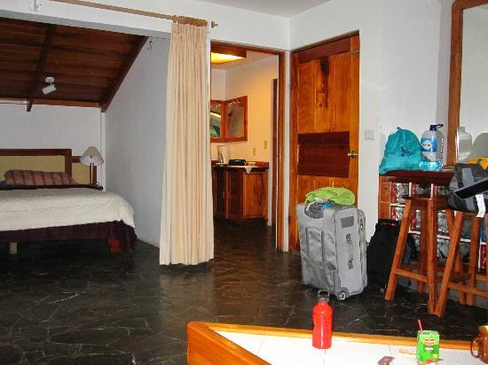 Hotel Las Tortugas: Downstairs in Room 11