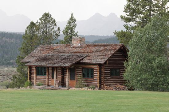 Cabin Example Foto Idaho Rocky Mountain Ranch Stanley