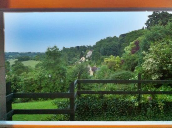 BEST WESTERN Limpley Stoke Hotel: View of the village countryside