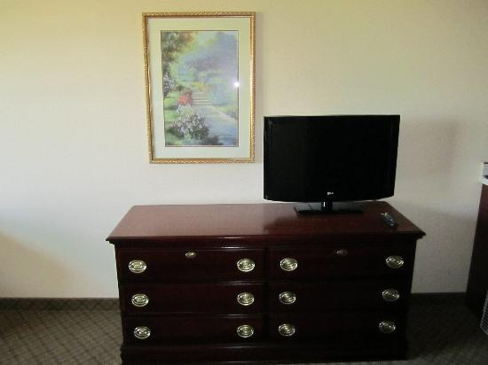 Country Inn & Suites By Carlson, Denver International Airport: Suites Flat Screen TV