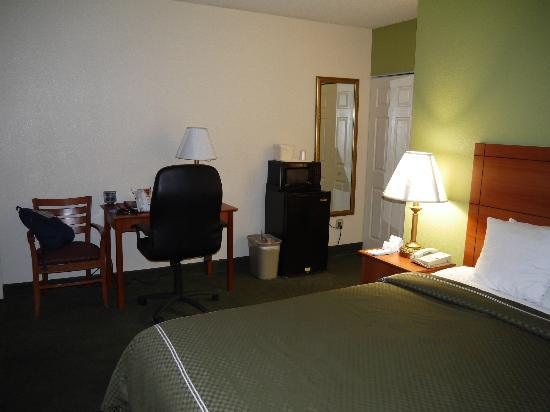 Comfort Suites at Sabino Canyon: Hotellrum