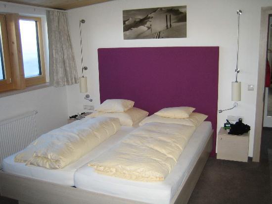 Cresta: Biberkopf Zimmer - Schlafzimmer
