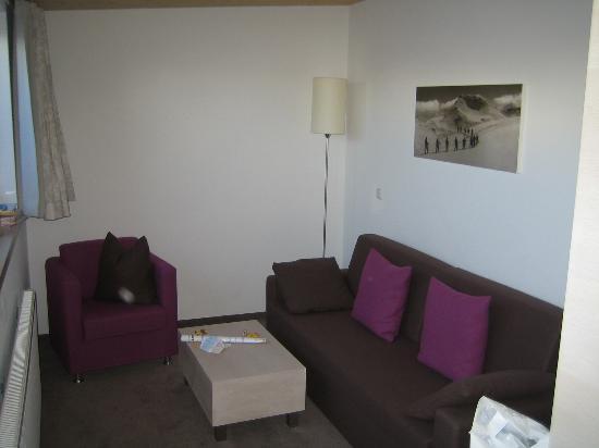 Cresta: Biberkopf Zimmer - Wohnzimmer