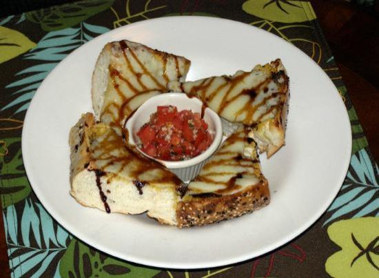 Chameleon Cafe: Bruschetta