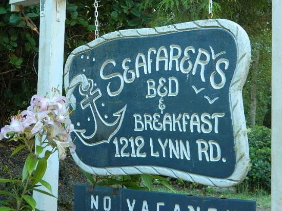 Seafarer's Bed and Breakfast: Welcome