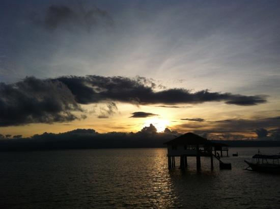 Bais City, الفلبين: sunset