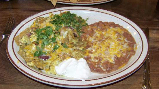 Cambria Cafe: Chilaquiles!