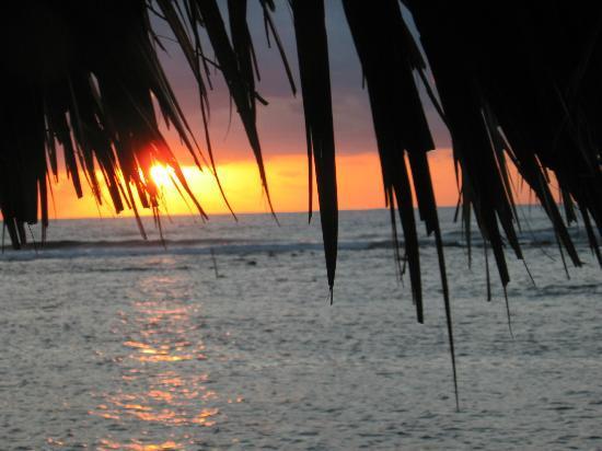 Glover's Atoll Resort : sunset