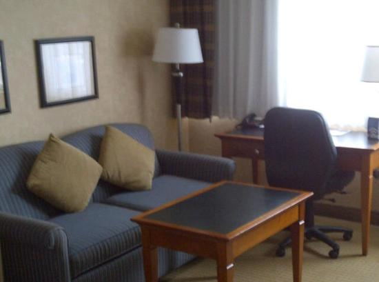 BEST WESTERN PLUS Suites Downtown: Sofa