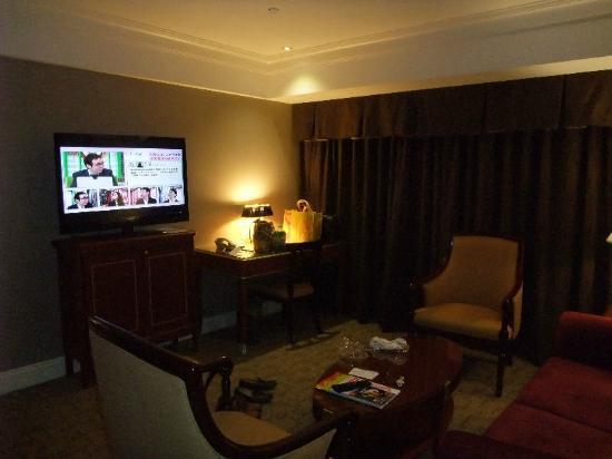 Imperial Hotel Taipei: こちら側にソファーが置いてありました