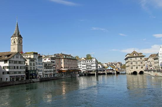 stattHotel: View of Zurich