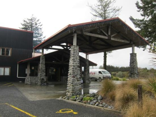 The Park Hotel Ruapehu: エントランス