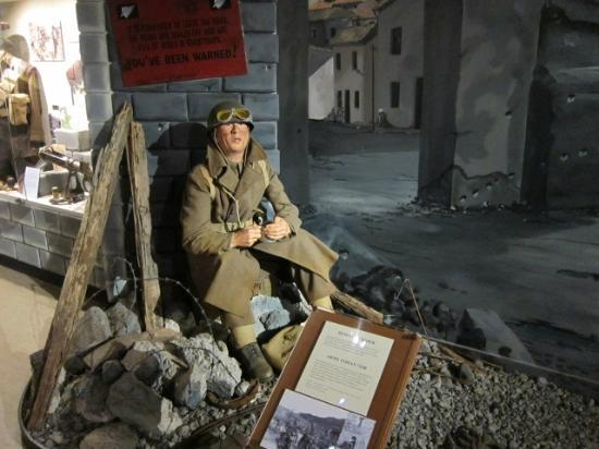 National Army Museum: 内部ディスプレイ