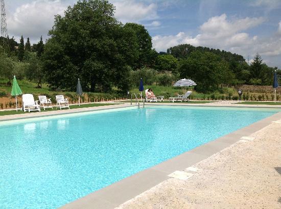 هوتل فيلا تشيلي: almost empty pool area