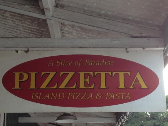 Pizzetta: old Koloa town on Kauai